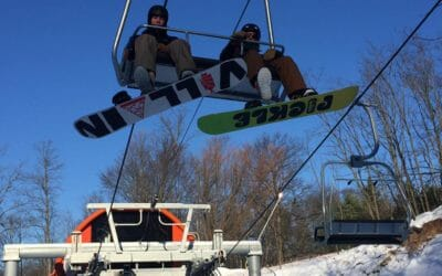 10 Reasons Canadians LOVE Caberfae Peaks on Winter Break