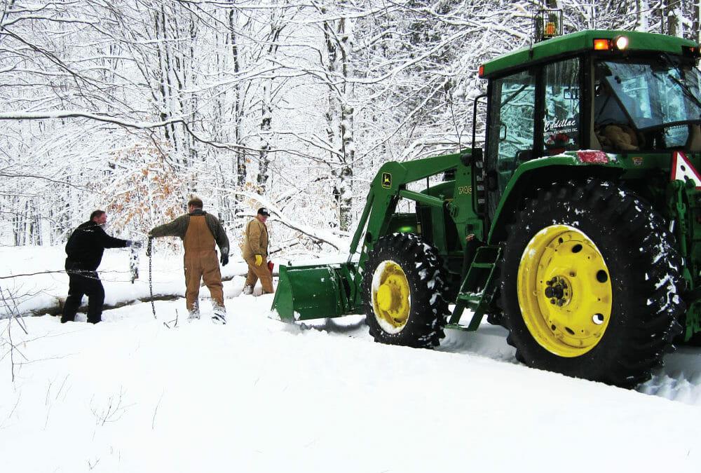 Snowmobile trails are open!