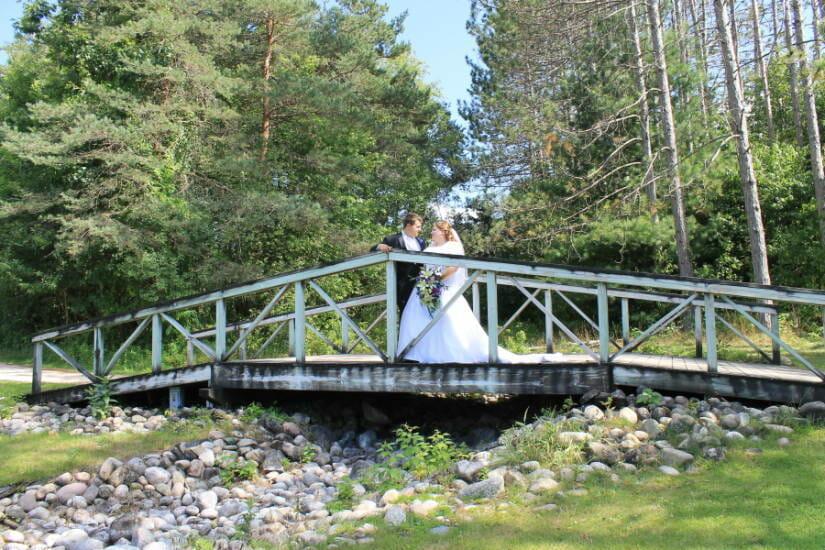 Great wedding photo opportunities