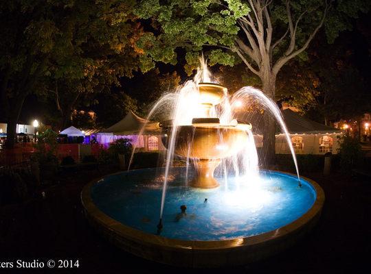 Cadillac Memorial Fountain